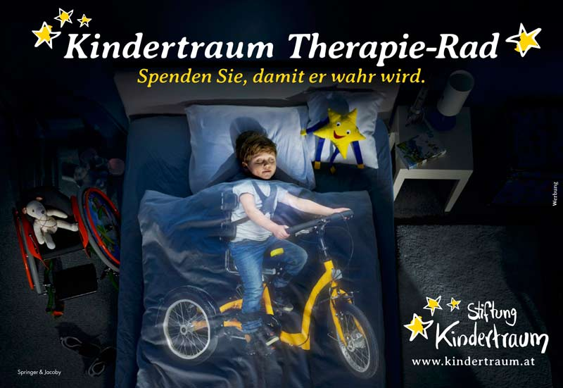 unsere werbekampagne stiftung kindertraum. Black Bedroom Furniture Sets. Home Design Ideas